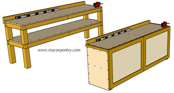 simple-workbench-plans