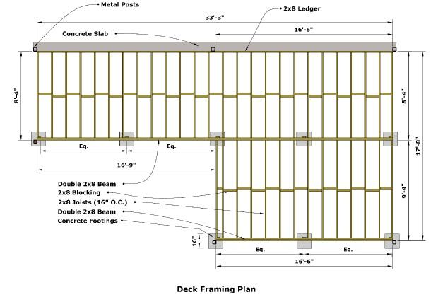 Image Result For Elevated Deck Plans