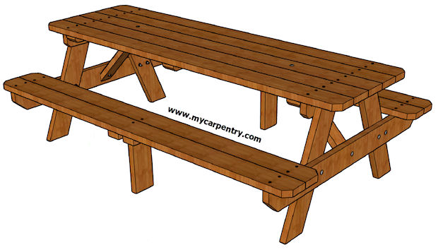 Groovy 8 Foot Picnic Table Plans Andrewgaddart Wooden Chair Designs For Living Room Andrewgaddartcom