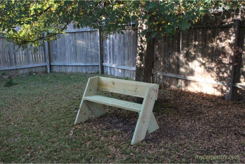 Cool Easy Bench Plans Build Your Own Outdoor Bench Pabps2019 Chair Design Images Pabps2019Com