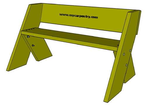Easy Bench Plans