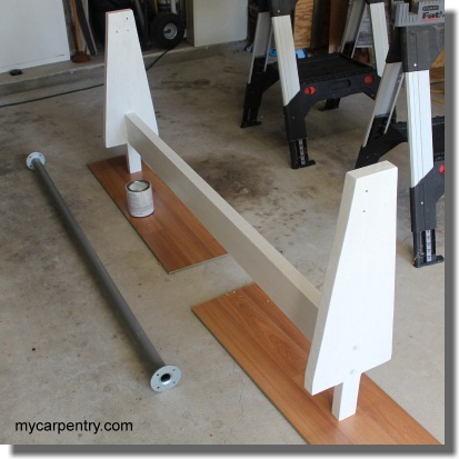 Assembled Truck Rack Uprights