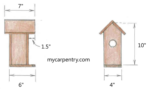 tall birdhouse plans