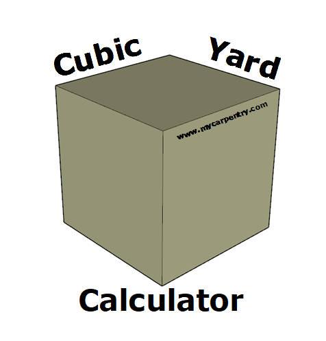 Cubic Yard Calculator