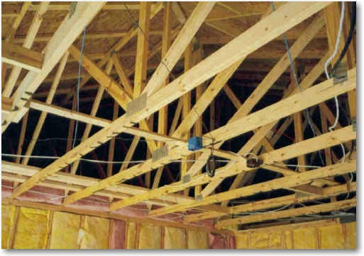 Engineered ceiling joist calibration || steel joist open web for