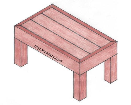Deck Bench Plans - Free Plans for a Bench Designed for a Deck
