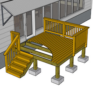 Build a Deck - Framing