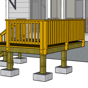 Build a Deck - Railing