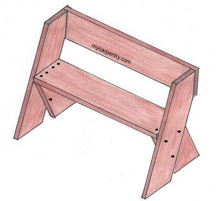 Permalink to simple wooden bench plans