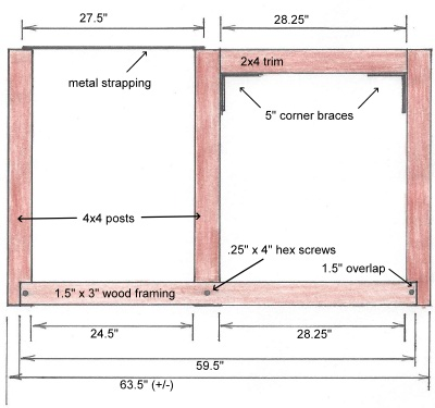 Home Bar Plans Back Elevation