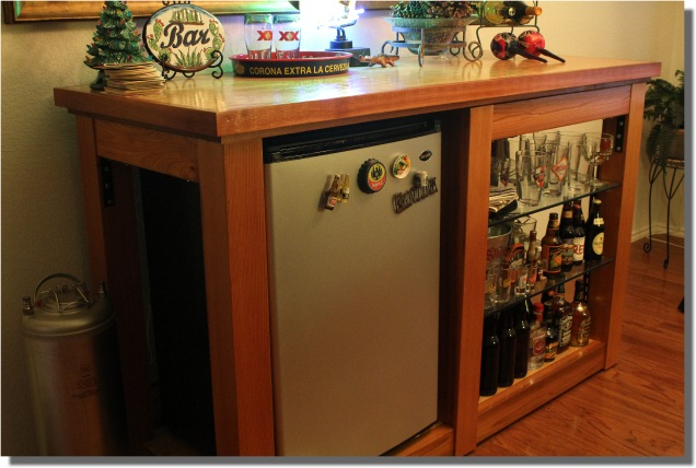 Home bar plans build your own home bar furniture for How to build a mini bar cabinet