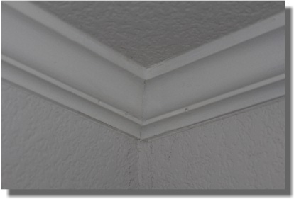 Coped Joint - Crown Molding