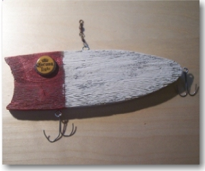 Wooden Lucky 13 Lure