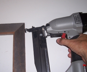 Fastening Picture Frames