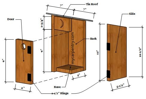 Outhouse Birdhouse - Birdhouse Plans that Resembles a Country Style on craft office designs, craft wood designs, craft bar designs, craft room designs, craft boat designs, craft home designs, craft shed designs, craft store designs,