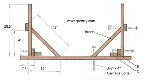 Plans to build a wooden storage shed, woodworking joint ...