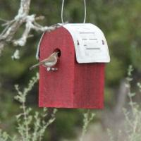 Red Barn Bird House