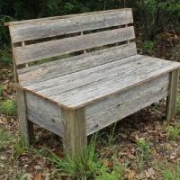 Rustic Bench Plans