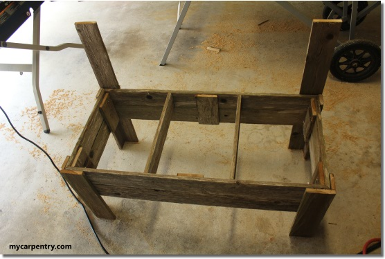 Rustic Bench Plans