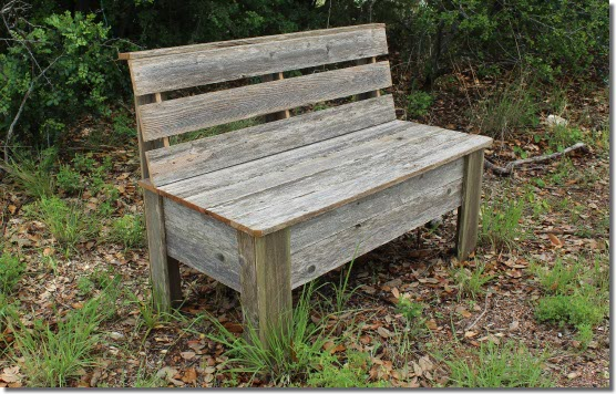 Mycarpentry blog for Rustic outdoor bench plans