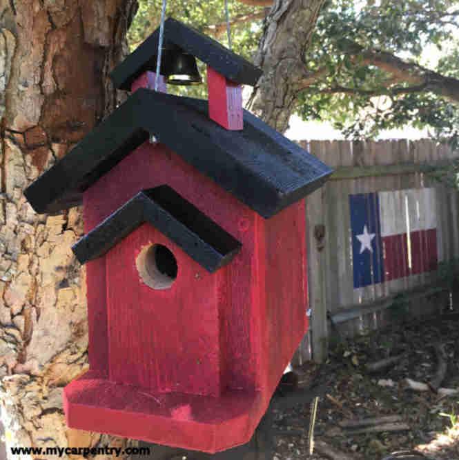 Schoolhouse Birdhouse
