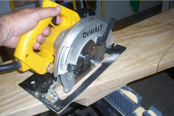 Cutting a Stair Stringer