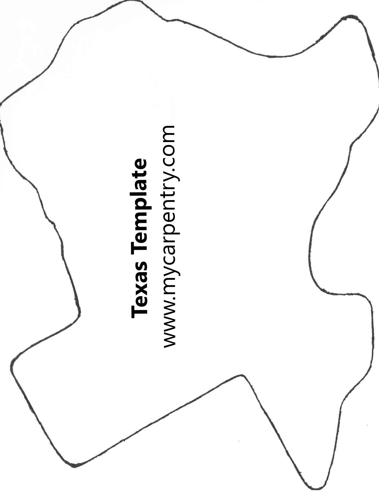 shape of texas