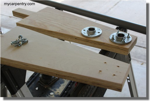 Upright and Flange Assembly