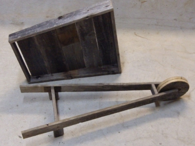 Wooden Wheelbarrow - Parts