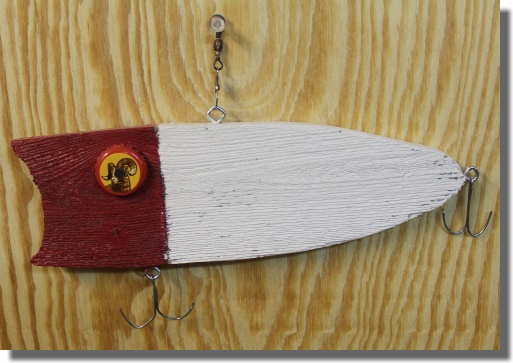Wooden Fishing Lure - Lucky 13
