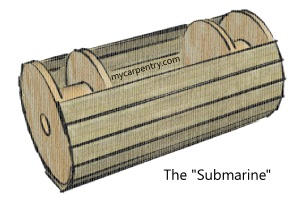 Wooden Submarine