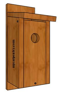 Bluebird Bird House Plans