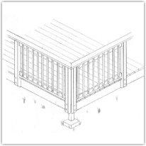 Build a Deck - Railing