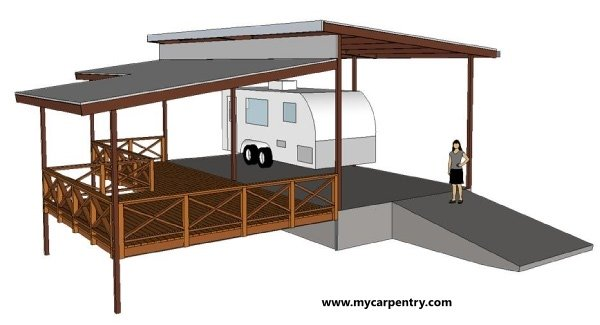 Cedar Deck Plan