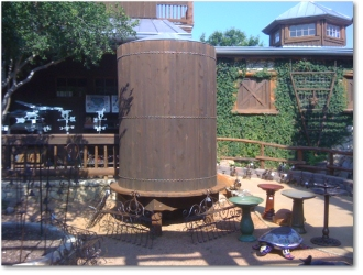 Cistern Rain Collection Tank