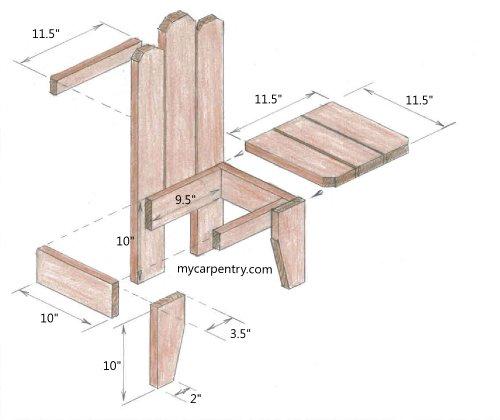 Wooden Chair Detail