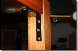 Home Bar Plans - Corner Brace