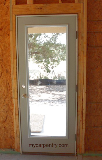 Installed Pre-hung Door