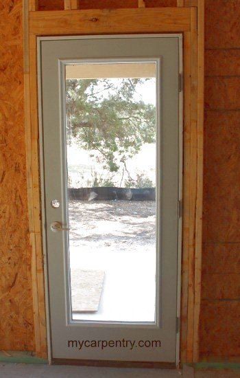 Installed Pre-hung Door