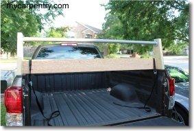Rear Truck Rack - Installed
