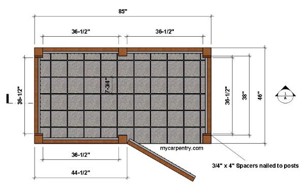 Outdoor Shower Floor Plan