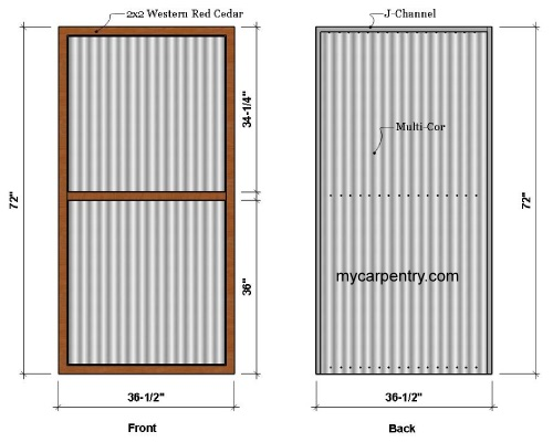 Outdoor Shower Wall Panels