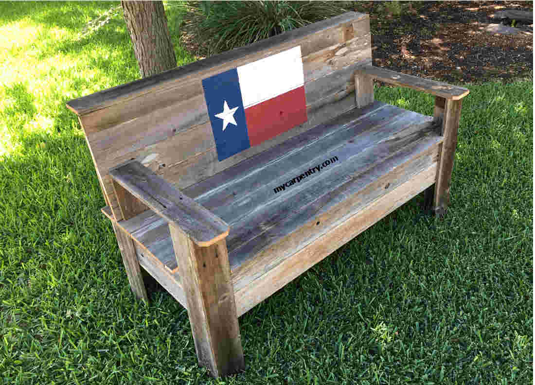 Rustic Wooden Bench How To Build A Rustic Bench