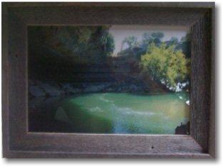 Cedar Picture Frame