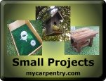 Smalll Woodworking Projects