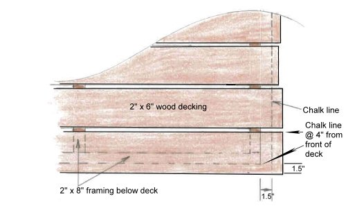 Wood Decking Detail