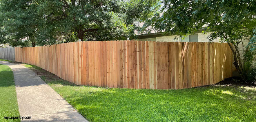 Wooden Privacy Fence