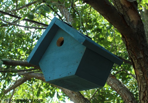 Wren Birdhouse Plans